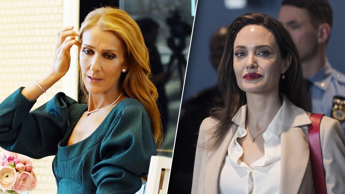 Celine Dion Angelina Jolie End of Friendship