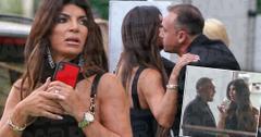 Teresa Giudice Wears Wedding Ring While Talking To Mystery Man