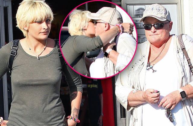 Paris Jackson Mom Debbie Rowe Cancer Reunited Pics