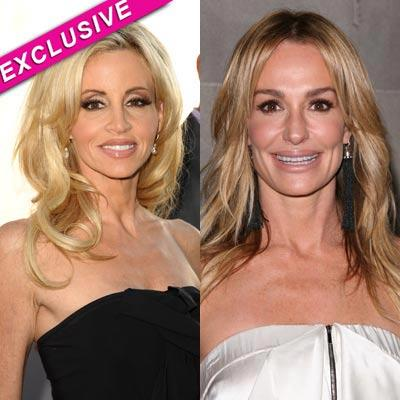 //camille grammer taylor armstrong feud