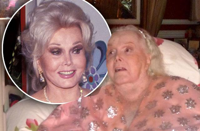 //Zsa Zsa Gabor Hospitalized For Lung Complications pp
