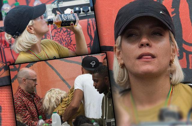 lily allen collapse drinking smoking binge