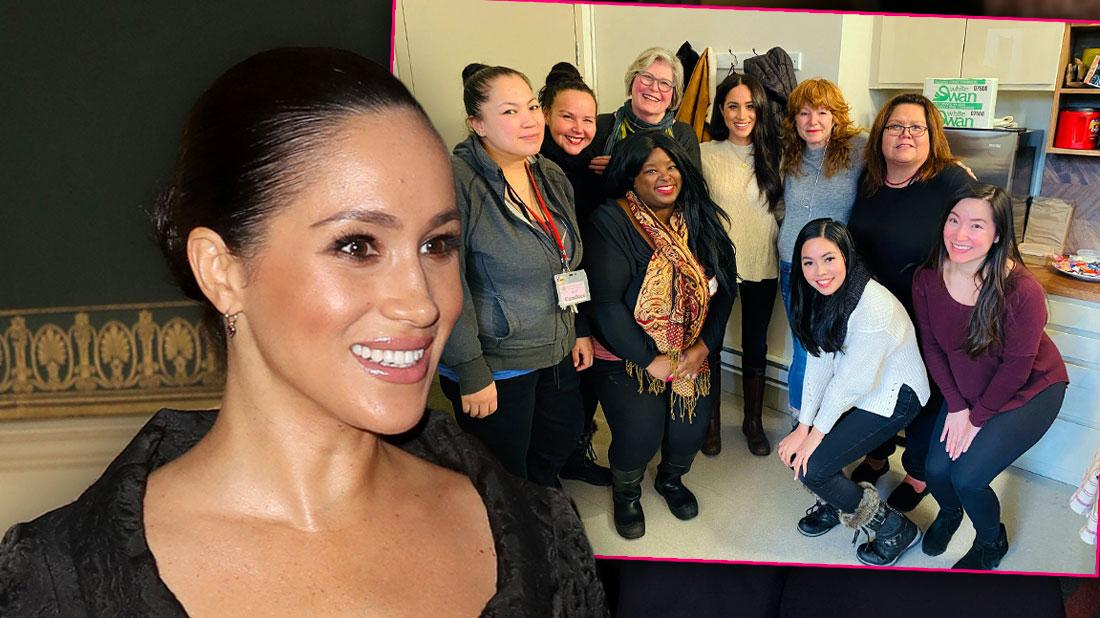 Meghan Markle Visits Women's Shelter In First Public Outing Since Quitting Royal Family