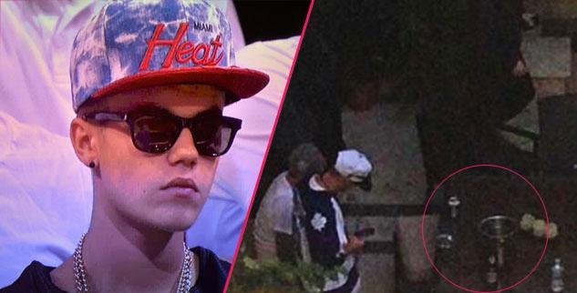 Justin Bieber Pops Bottles In Miami Post-Jail
