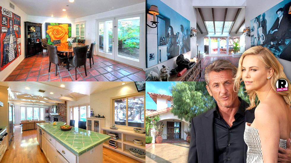 Sean Penn Charlize Theron Sells Malibu Bachelor Pad