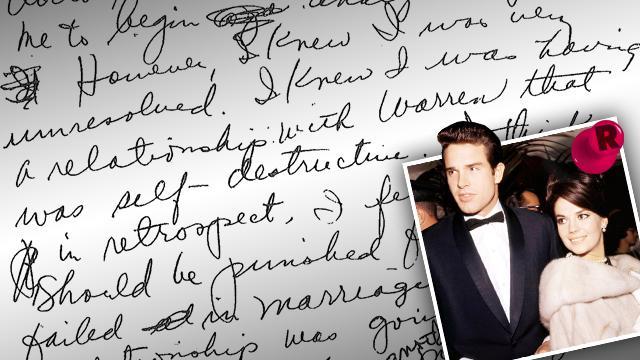 Natalie Wood Warren Beatty Affair