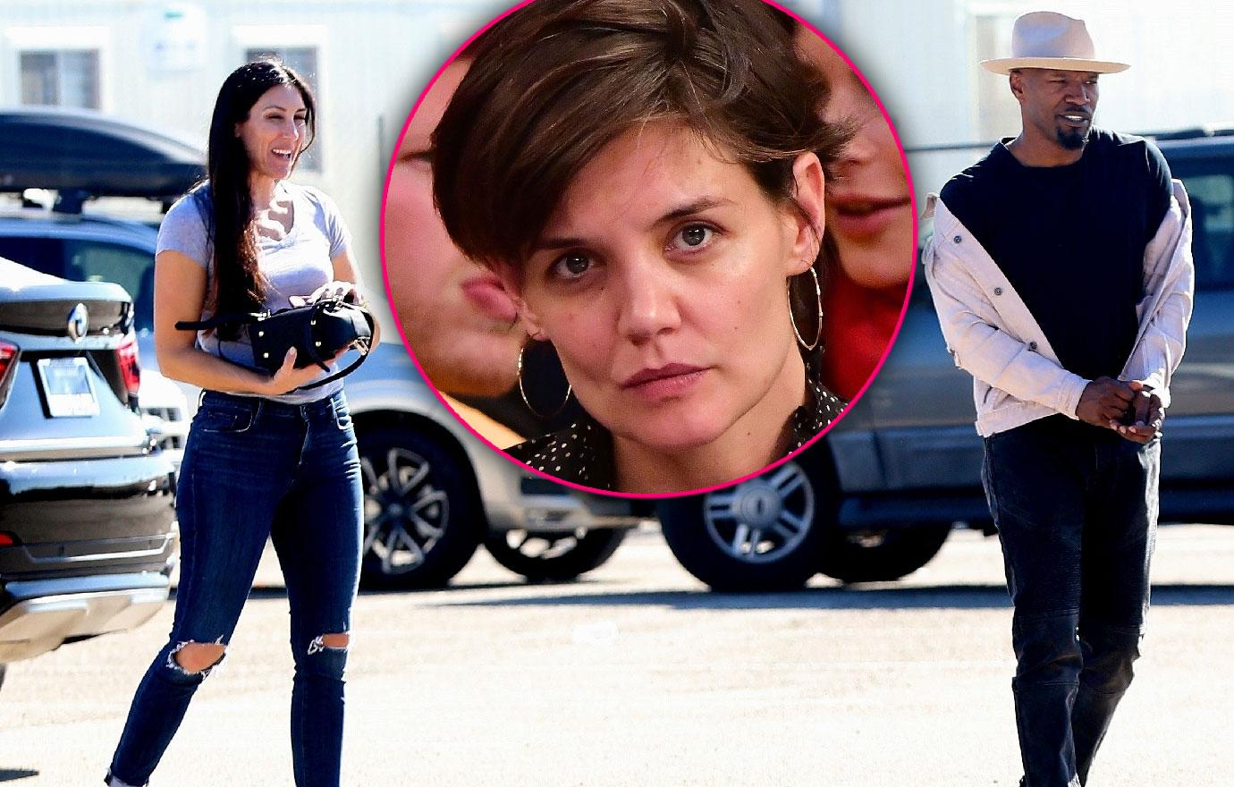 //jamie foxx has lunch with baby mama during katie holmes romance pp
