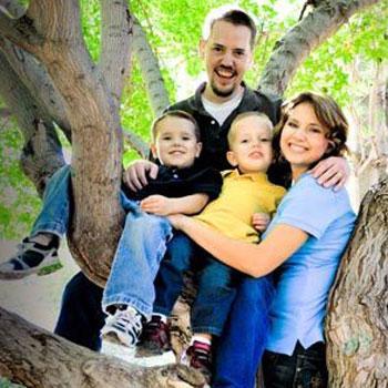 //josh powell family photo