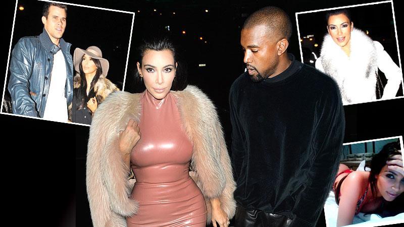 //kim kardashian lies reality star access hollywood interview kanye west timeline photos pp