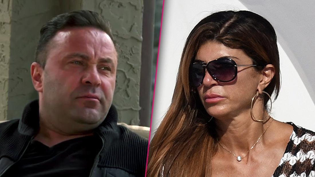 Teresa Giudice Looking Serious Split With Joe Giudice Looking Angry