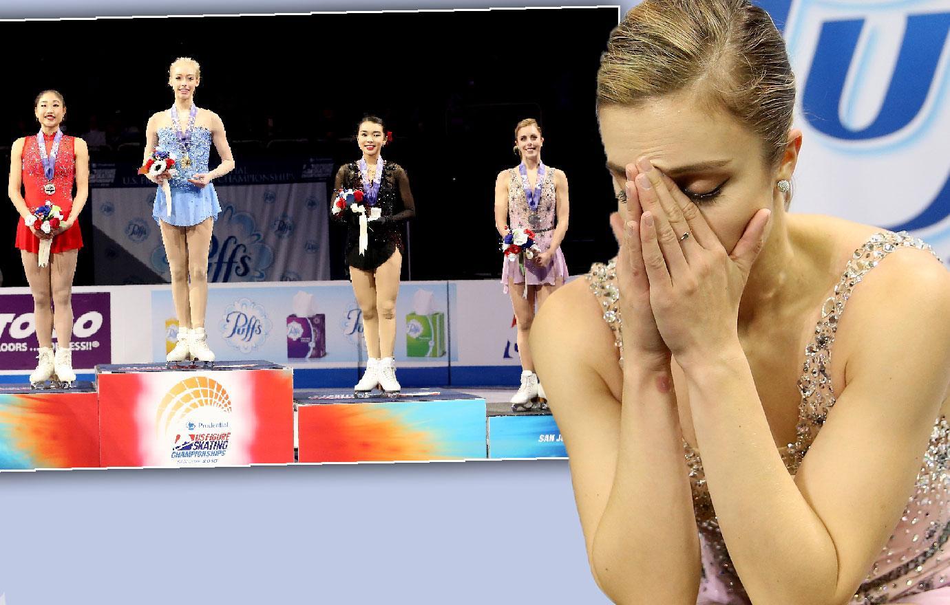 Ice Skater Ashley Wagner Slammed For Whining Olympics