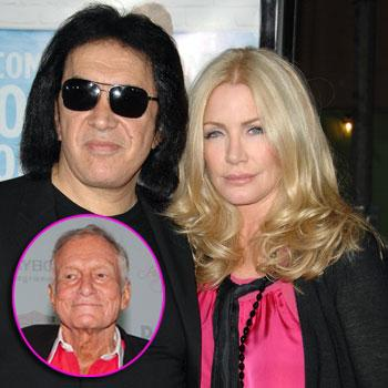//gene simmons hugh hefner shannon tweed splash