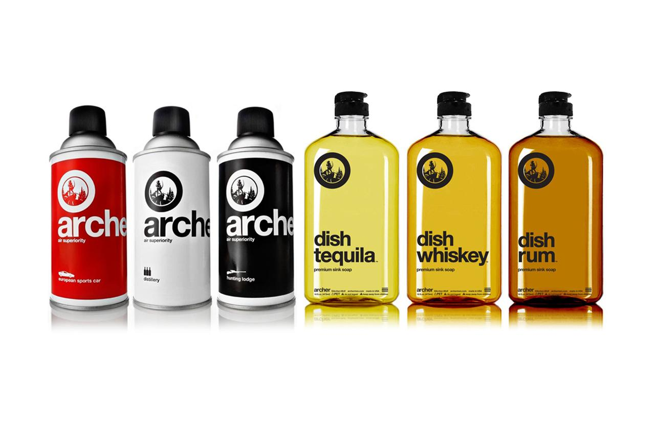Meet Archer, the Brand Creating Air Fresheners and Dish Soaps That Smell Like Whiskey, Sports Cars, and More