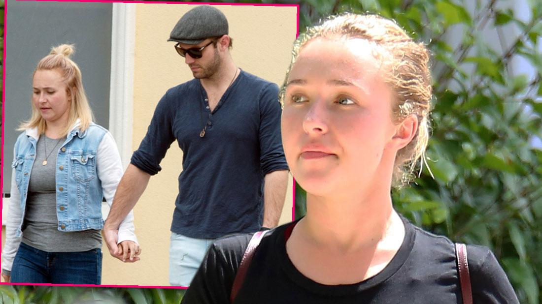 Hayden Panettiere Spotted With Boyfriend After He's Charged With Domestic Violence