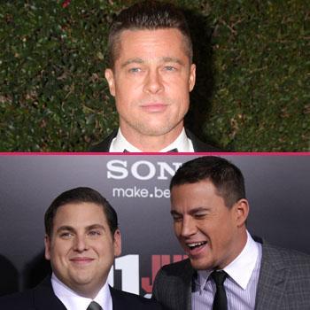 Brad Pitt Mocked By Jonah Hill Channing Tatum