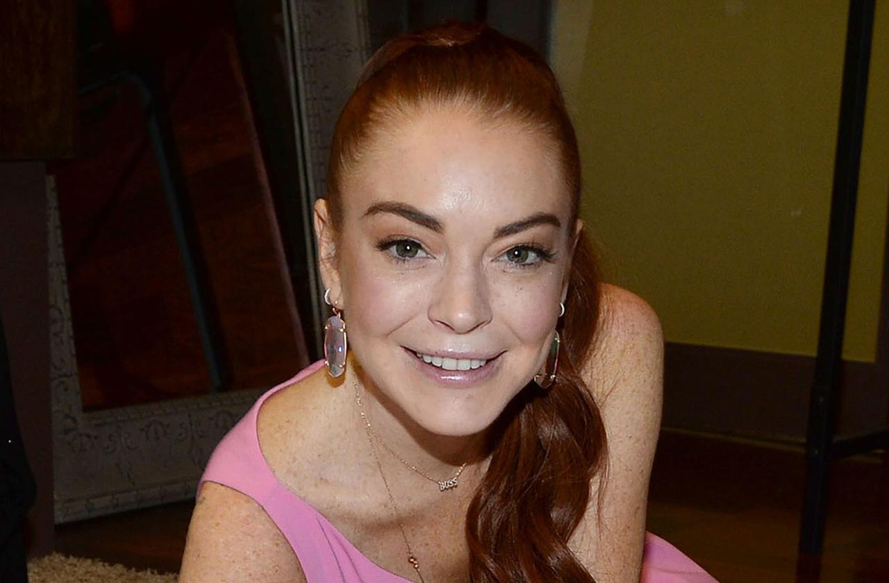 Lindsay Lohan Drinking Not Sober New Show