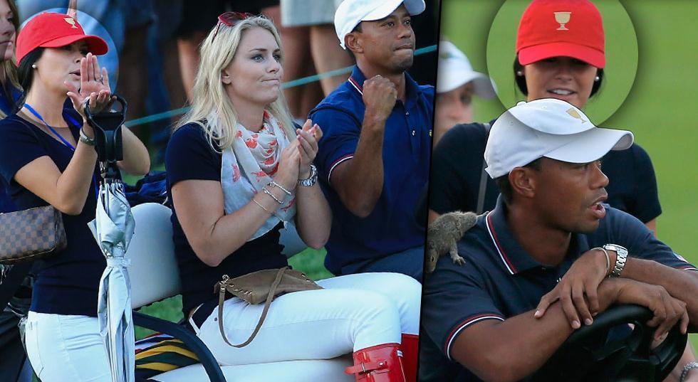 'Not Even Acquaintances?' Photos Disprove Tiger Woods ...
