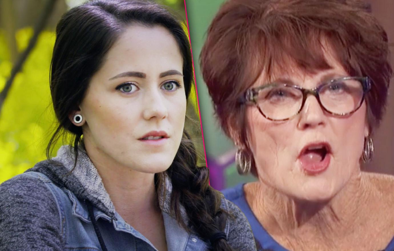 Jenelle Evans Feuds With Mom Barbara Again