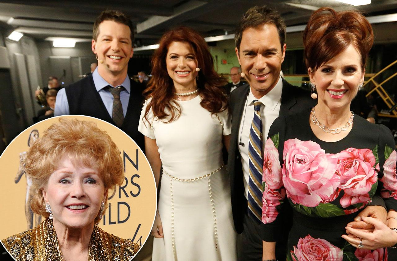 will and grace reboot Debbie Reynolds homage