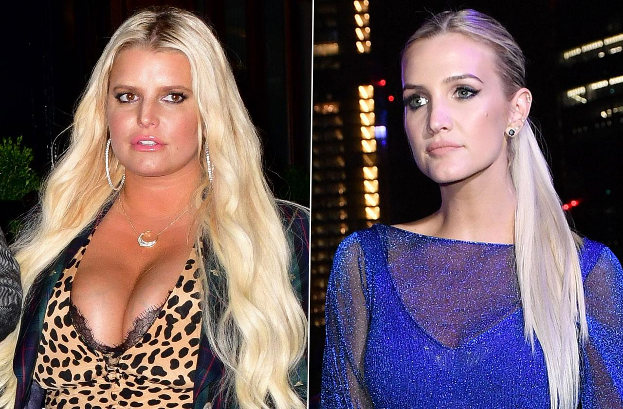 Ashlee Simpson Jessica Simpson Sibling Rivalry