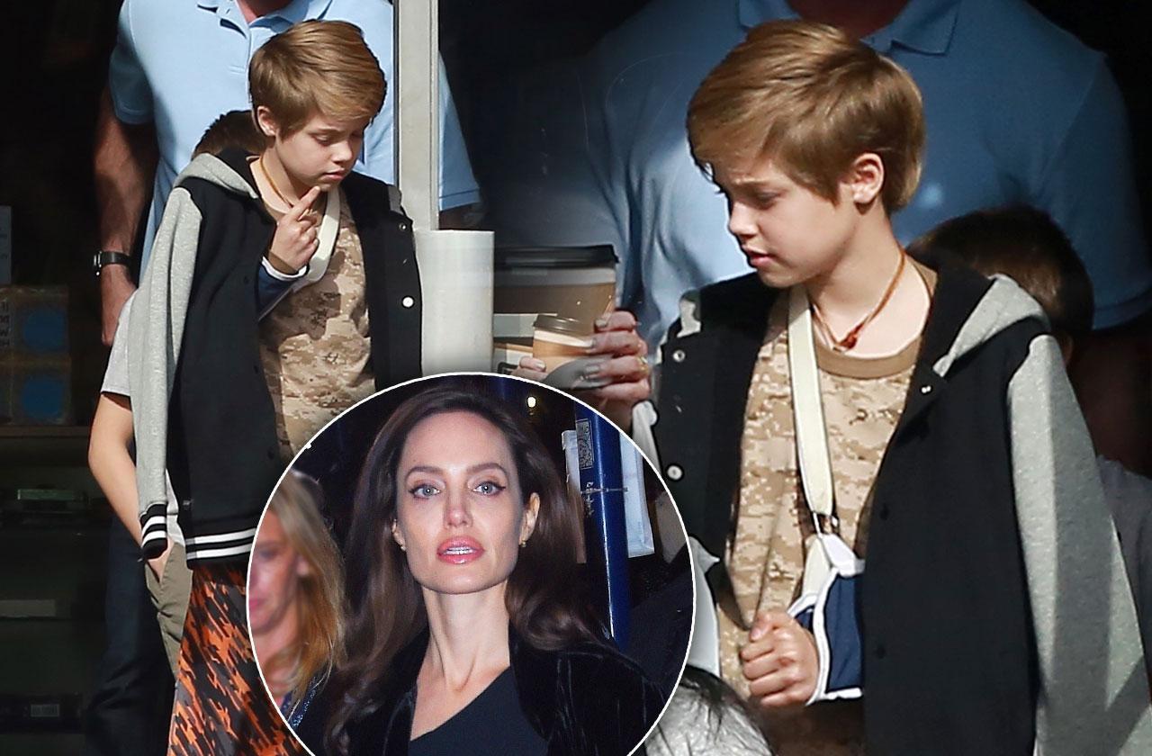 Shiloh Jolie Pitt broke collar bone