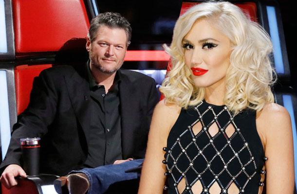 //Voice Gwen Stefani Blake Shelton Quit pp