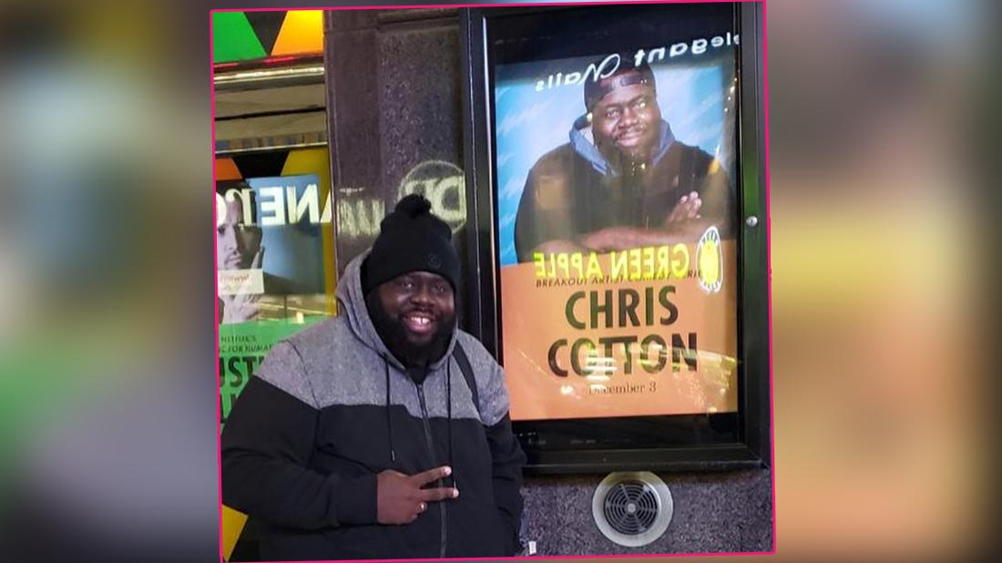 'Morbid Obesity' Contributed To Comedian Chris Cotton's Death, Coroner Reveals
