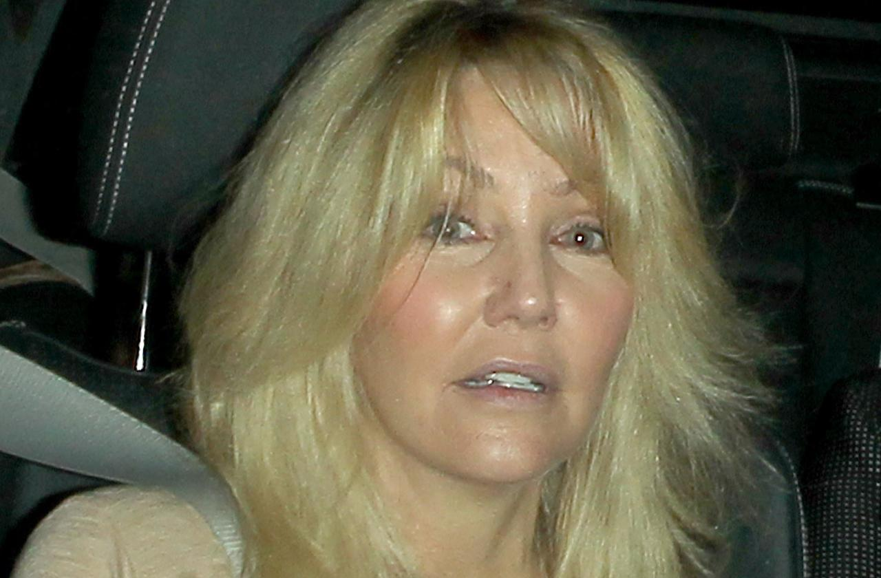 //heather locklear engaged chris Heisser bloody brawl pp