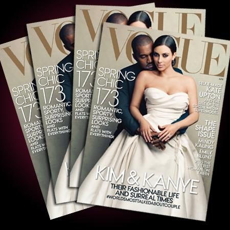 //kimye vogue covers sell pp