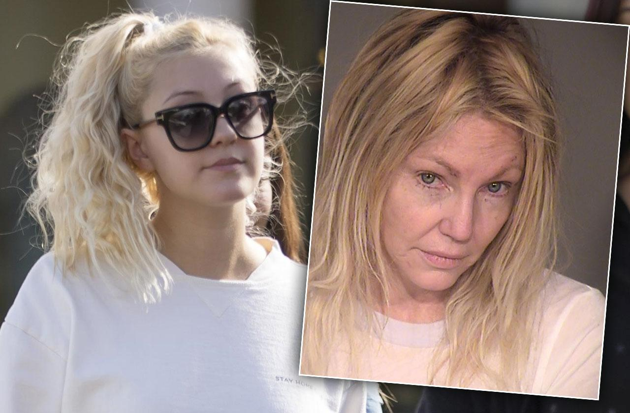 //Ava Sambora Out After Mom Arrest pp