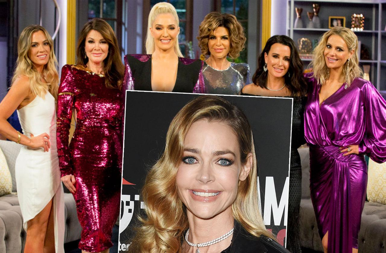 photo title: denise richards real housewives beverly hills join bravo reality show