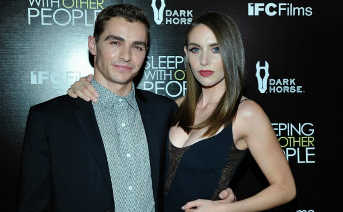 Dave Franco and Alison Brie on the red carpet.